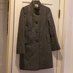 J. Crew wool coat gray size 2